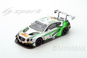 BENTLEY Continental GT3 N°8 Bentley -2ème 24 H Spa 2017- Soulet - Abril - Soucek