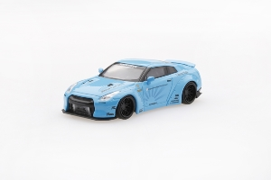 NISSAN GT-R R35 Type 1  Rear Wing Version 2 Light Blue (LHD)