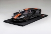 FORD GT Matte Black w/Competition Orange Stripe (999 ex)