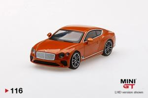 BENTLEY Continental GT Orange Flame RHD