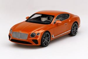 BENTLEY New Continental GT Orange Flame 1/18