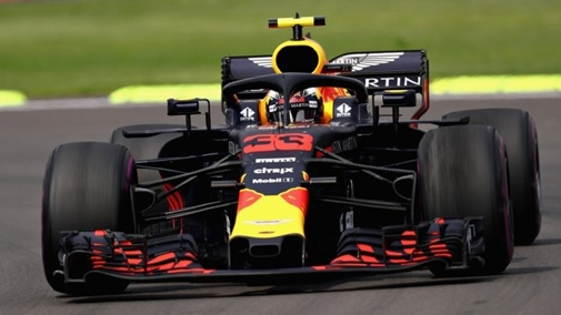 RED BULL Racing - TAG Heuer N°33 Vainqueur GP Mexique 2018 Max Verstappen