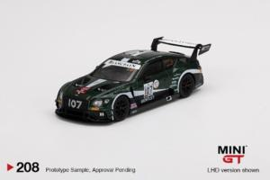 BENTLEY Continental GT3 N°107 M-Sport Team Bentley 24H Spa 2019 J. Pepper - S.Kane - J. Gounon RHD 1/64