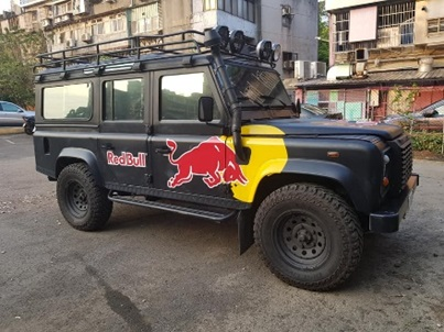 "LAND ROVER Defender Red Bull ""LUKA"" Promotional Vehicle"