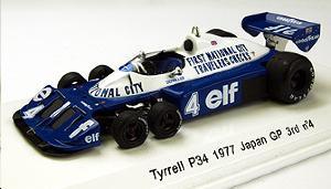 tyrrell p34 6 roues n 4 gp japon 1977 p depailler. Black Bedroom Furniture Sets. Home Design Ideas