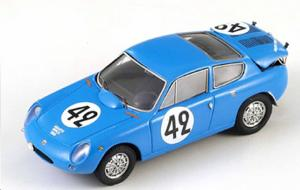 ABARTH Simca 1300 n°42 LM62 H. Oreiller – T. Spychiger
