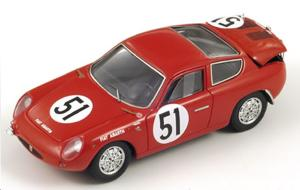 ABARTH Fiat 700S Corse n°51 LM62 R. Fraissinet – P. Condrillier